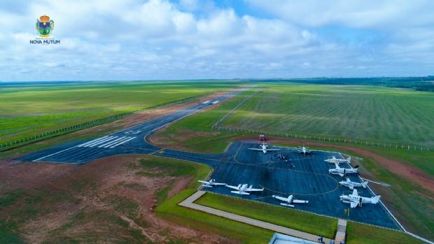 Aeroporto de Nova Mutum deve receber autorização para voos comerciais; empresas interessadas