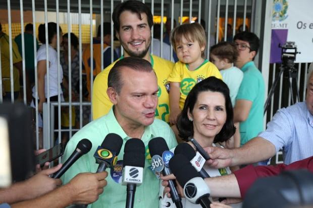 Fagundes comemora democracia e reafirma confiança de chegar ao segundo turno