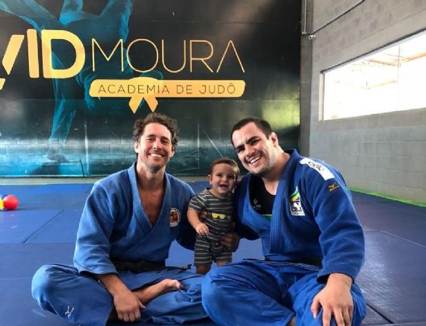 David Moura tem reforço de elite para sua preparação rumo ao Campeonato Mundial de judô