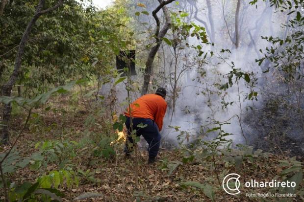 Cerca de 30 ocorrências de incêndios urbanos são registradas por dia em Cuiabá