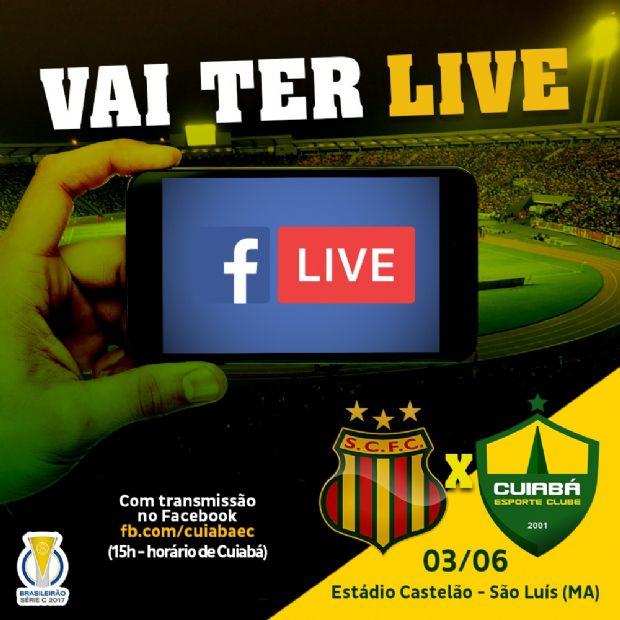 Cuiabá comemora sucesso na transmissão de jogo pelo Facebook e brinca com CBF por 'cópia'