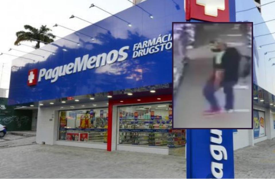 Homem rouba joalheria em Cuiabá e é preso após assaltar farmácia no mesmo dia; veja vídeo