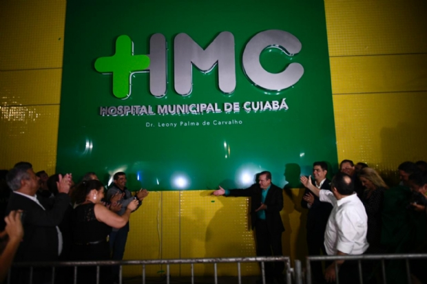 Segunda etapa de novo hospital de Cuiabá irá funcionar em janeiro; Pinheiro vai manter gabinete na unidade