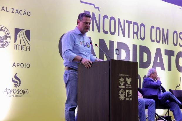 Fávaro afirma que não será representante de apenas um setor no Congresso