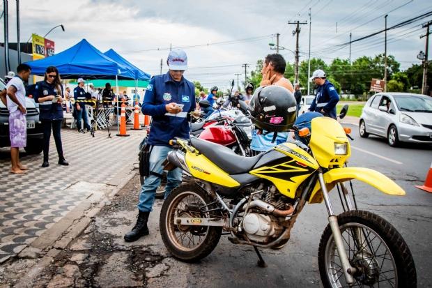 Blitzes para fiscalizar motocicletas serão estendidas na Grande Cuiabá e realizadas no interior