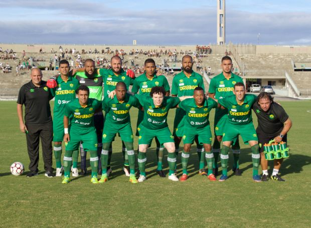 Cuiabá comemora empate fora de casa contra o Botafogo (PB) pelo Brasileirão