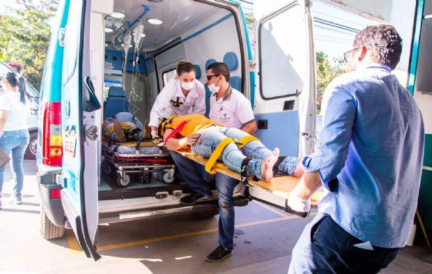 Simulação de atendimento de catástrofes é realizada pelo Hospital Santa Rosa