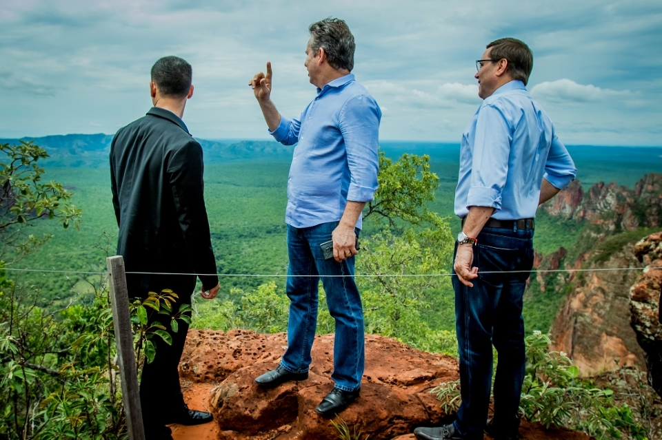 Mauro diz que diferente de 2018, quando MPF questionou estadualização do Parque de Chapada dos Guimarães, MT vive equilíbrio fiscal