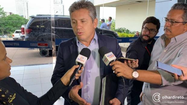 Mauro diz que dados da transição são preocupantes e pede ajuda ao Legislativo