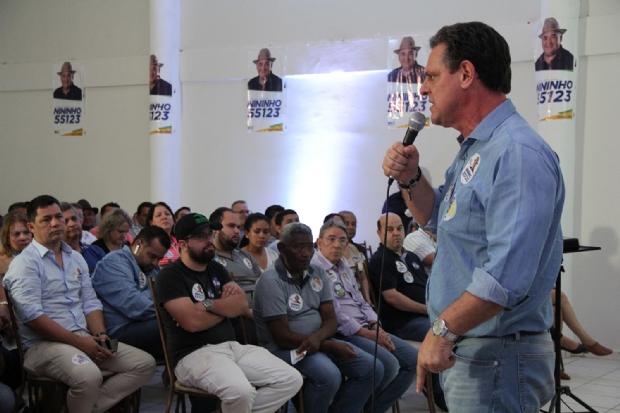 """""""MT está patrocinando o desenvolvimento de outros estados"""", afirma Carlos Fávaro"""