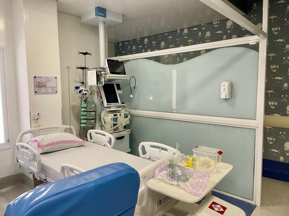 Governo de Mato Grosso inaugura 10 novos leitos de UTI pediátrica no Hospital de Câncer