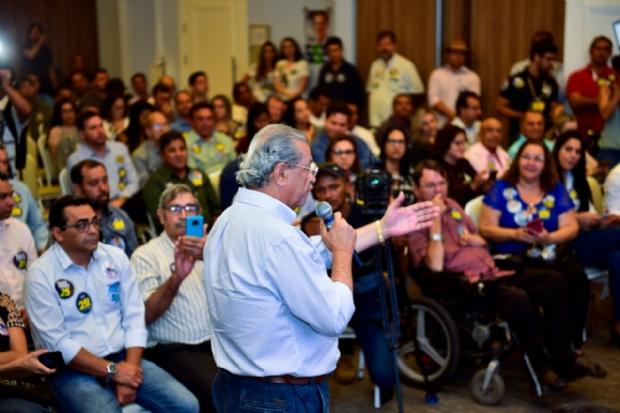 Jayme destinará R$ 70 mi à saúde e propõe criação da frente parlamentar de fronteira