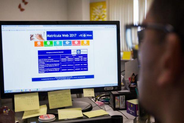 Seduc adia data para matrícula online em decorrência de problemas no sistema