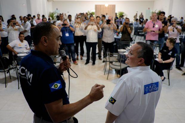 Pedro Taques fez defesa incisiva do secretário Kleber Lima, do Gabinete de Comunicação