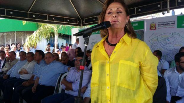 Lucimar Campos lembra que o sonho está sendo realizado, com as obras do PAC em Várzea Grande