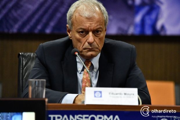 Eduardo Moura deixou a presidência da Ager e é o primeiro do PSD a entregar o cargo no governo Pedro Taques