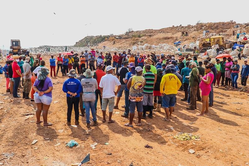 Gaedic aciona Ministério dos Direitos Humanos por moradia, saúde e educação para catadores de Cuiabá