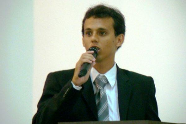 Vereador Luciano de Souza Silveira (PTB), o