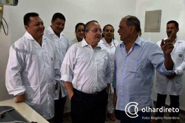 Luiz Soares recebeu determinação de Pedro Taques para resolver questão dos hospitais regionais de Mato Grosso