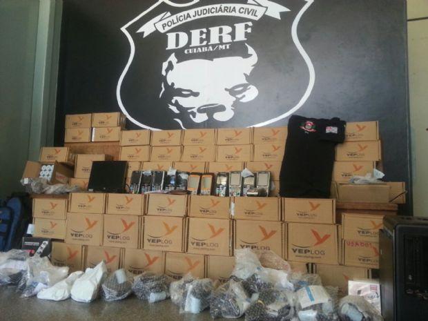 Bacharel em Direito é preso por estelionato com 91 maquinas de cartão