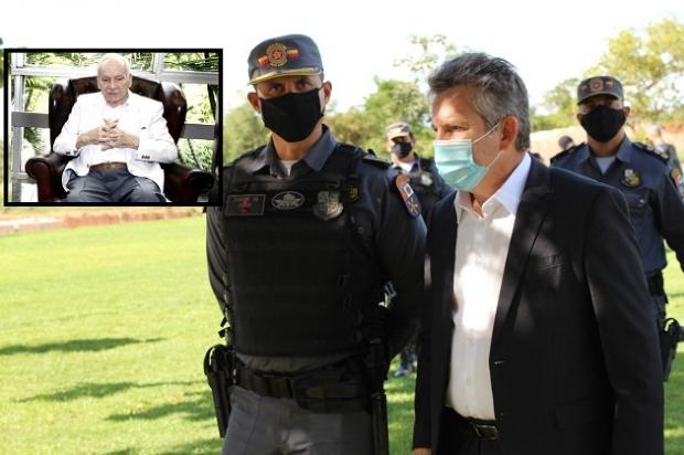 Mauro Mendes e ex-governador comparecem a enterro de Frederico Campos;  veja vídeos