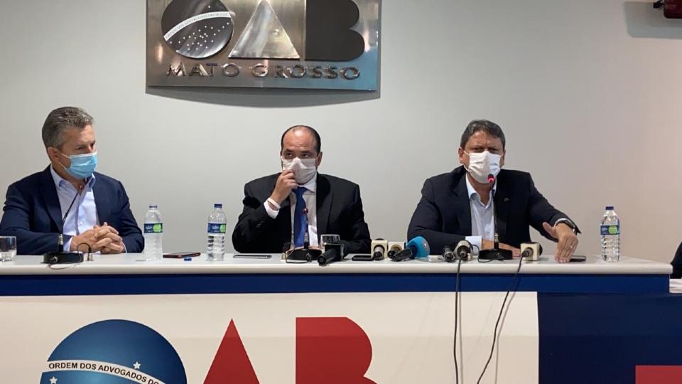 Governador lembra que fez intervenção na CAB quando era prefeito e cobra que governo Bolsonaro faça o mesmo na BR-163