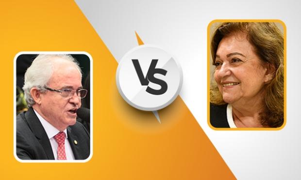 Pré-candidatos ao Senado, Sachetti e Maria Lúcia divergem na ideologia e debatem temas delicados