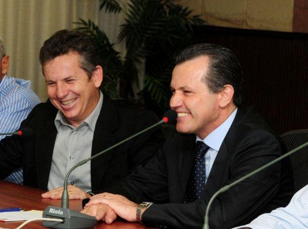 Mauro Mendes não teve o direito ao uso da palavra na entrevista de Silval Barbosa, sobre obas da Copa do Pantanal