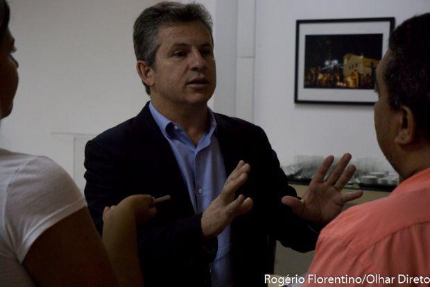 Mauro Mendes participa reunião com Jayme, mas permanece indeciso sobre filiação ao DEM