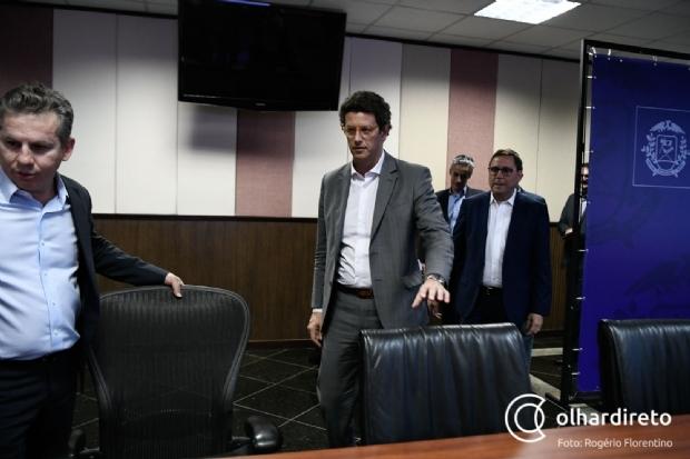 Por coronavírus, ministro comunica coordenador da bancada que não virá a MT