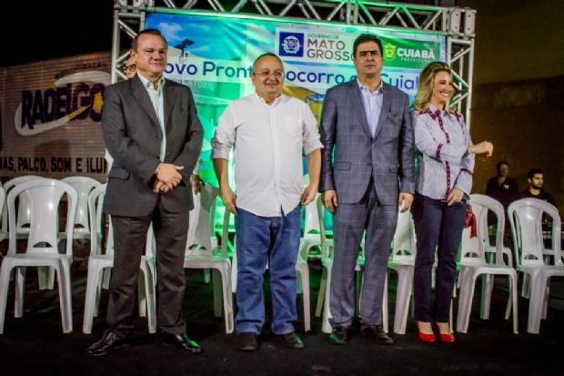 Prefeito e governador assinam acordo para equipar novo pronto-socorro