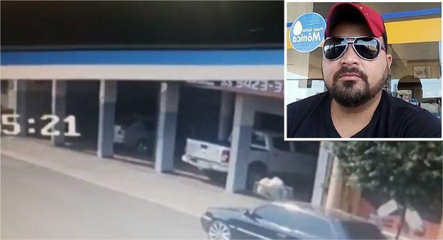 Vídeo mostra momento que carro esmaga dono em mecânica; testemunhas dizem que veículo dava partida sozinho