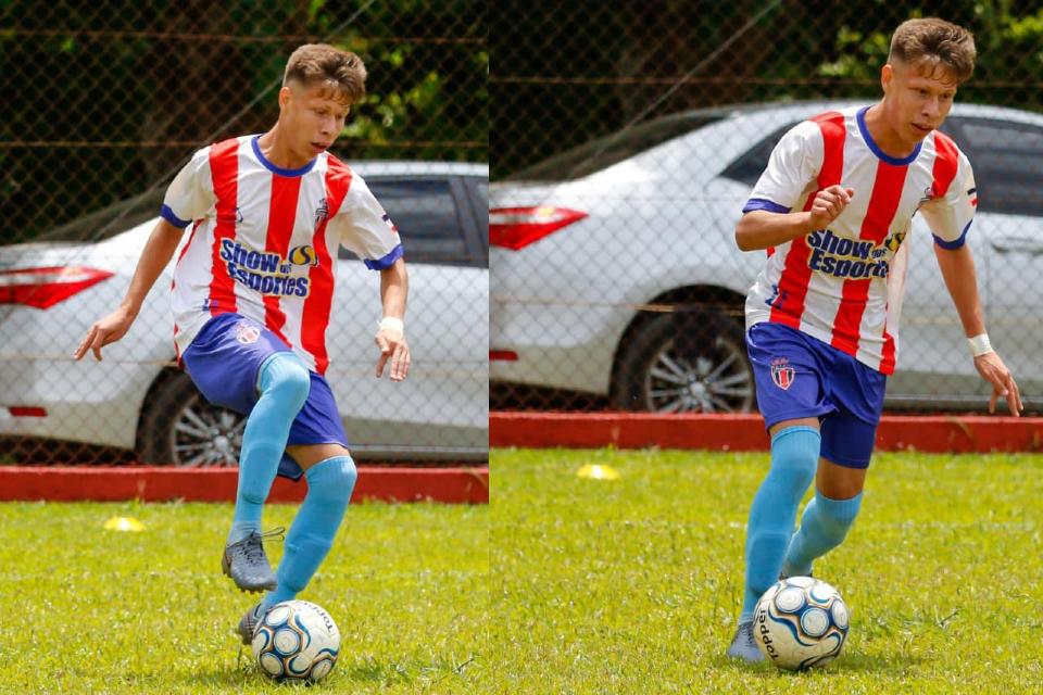 Cuiabano de 17 anos aguarda fim de restrições europeias para defender time de Portugal