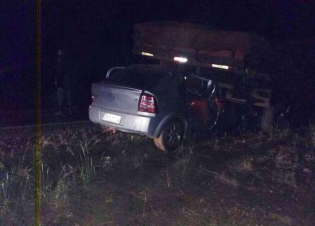 Professora colide contra traseira de caminhão e morre em rodovia federal