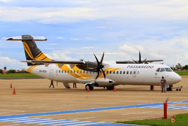 Com 60 dias em operação, Passaredo encerra atividades no aeroporto de Sorriso
