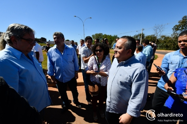 Taques sugere que oposição denuncie ao MP suposto uso da máquina em pré-campanha à reeleição