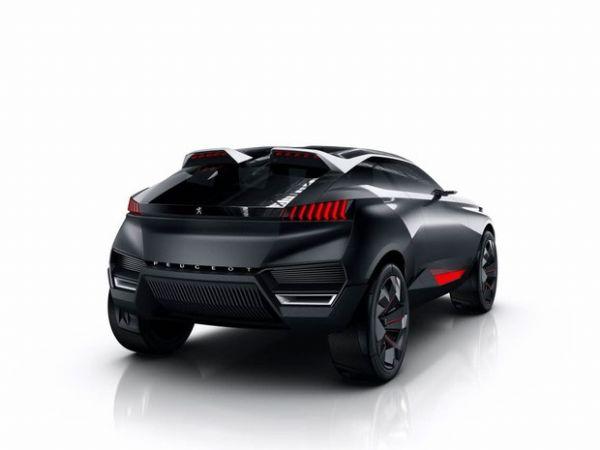 Quartz é esboço de 'SUV do futuro' da Peugeot