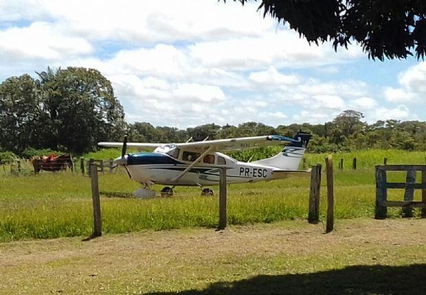 Piloto sequestrado em roubo de avião no Pantanal é encontrado na fronteira com a Bolívia