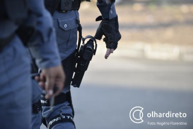 Traficante é baleado e morre após trocar tiros com a Polícia Militar em Cuiabá