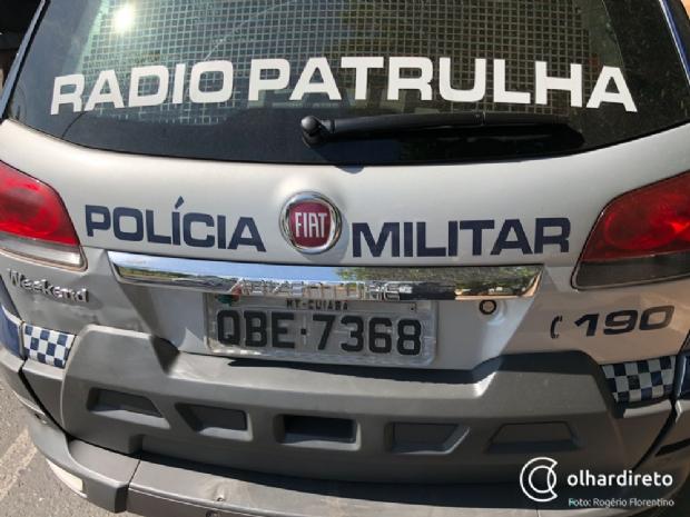 Militar é rendido por suspeitos armados e encapuzados e tem veículo roubado