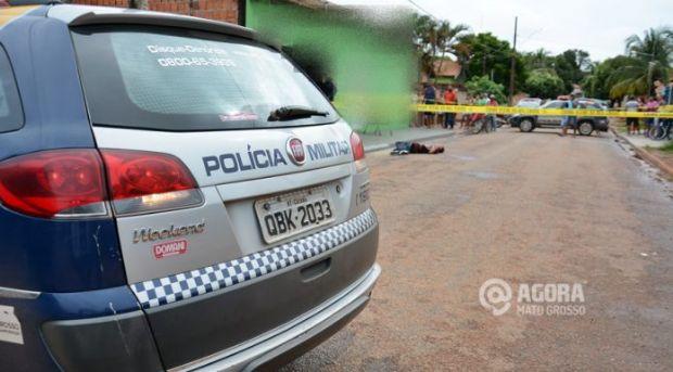 Após render família e tentar roubar moto Hornet, homem é linchado em cidade de MT