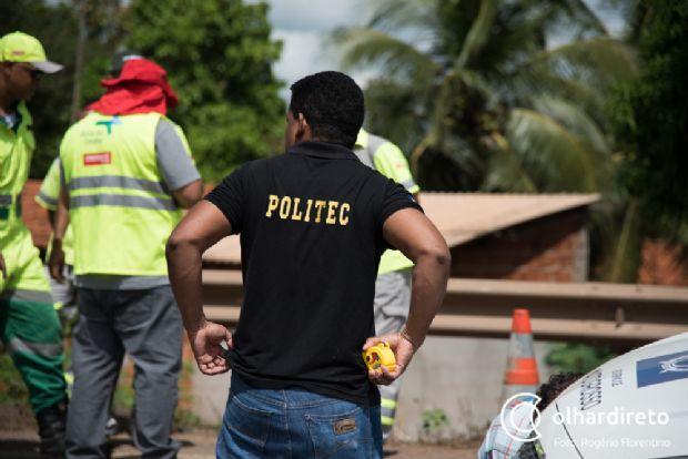 Politec foi acionada e irá apontar causas de acidente