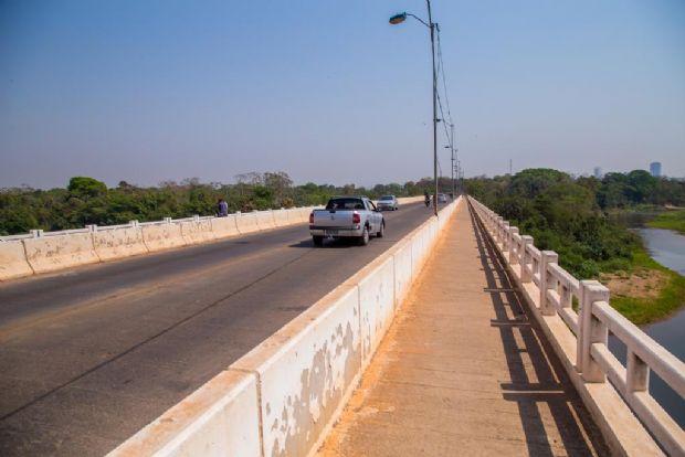 Secid retoma obras emergenciais na ponte Benedito de Figueiredo; prazo de 90 dias
