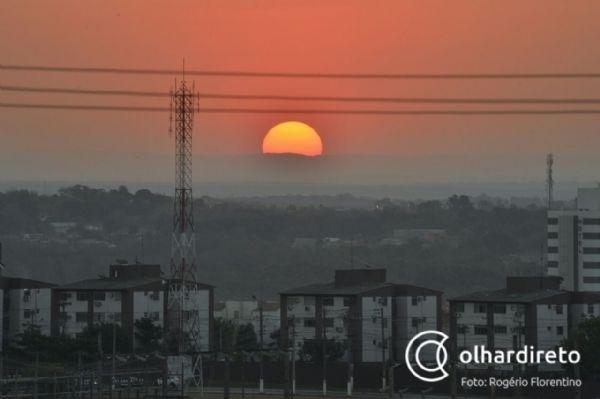 Com Pantanal em chamas, Cuiabá volta a bater o recorde de dia mais quente do ano