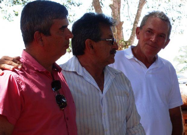 Da esquerda para a direira: Paulo, Rubens e Genezio