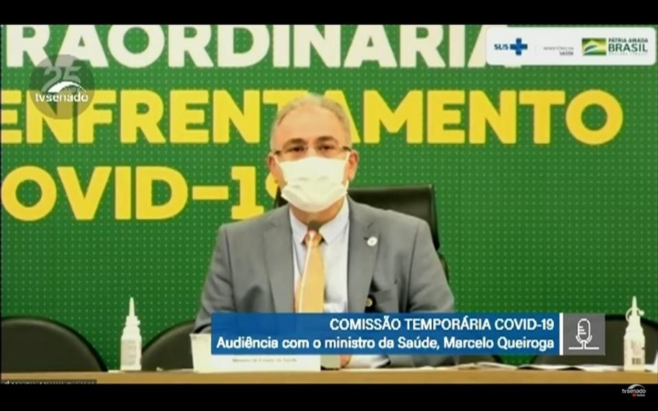 Queiroga afirma que governo federal não pretende enviar doses extras a Cuiabá e VG por conta da Copa América