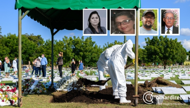 Analista do Senai, professora, empresário e pastor são vítimas da Covid-19 em Mato Grosso