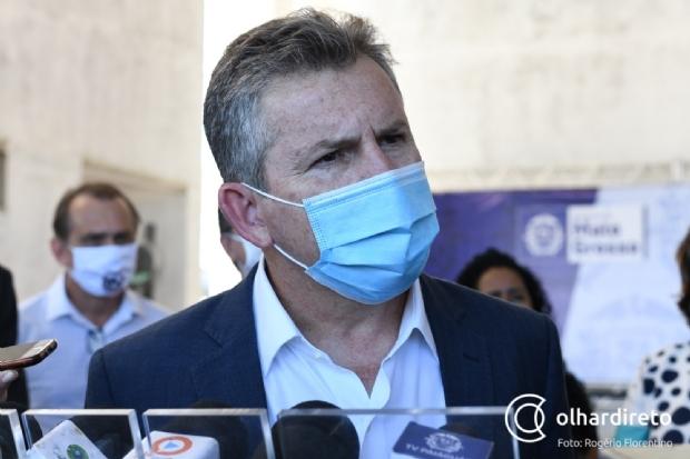 Curado da Covid-19, governador muda discurso e diz para população procurar atendimento nos primeiros sintomas