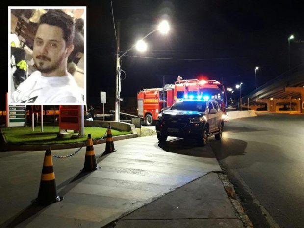 Testemunha aponta a bombeiros que estudante de Direito estava em alta velocidade no momento de acidente