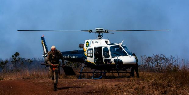 Após 8 dias, chuva ajuda a extinguir incêndio no Parque Estadual Serra de Ricardo Franco